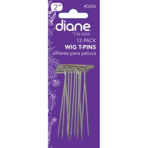 Diane D254 Wig T-pin 2, Silver